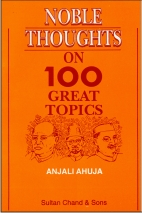 Noble Thoughts on 100 Great Topics