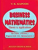 Business Mathematics Theory and Applications