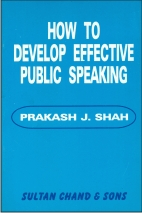 How to Develop Effective Public Speaking